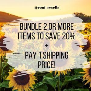 Bundle Savings!